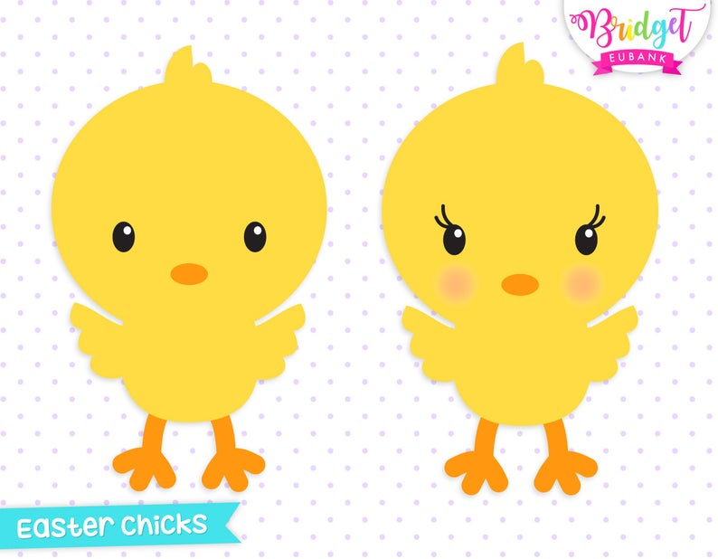 Easter clipart, chick clipart, cute chicks, baby chick clipart, Commercial  Use, INSTANT DOWNLOAD.