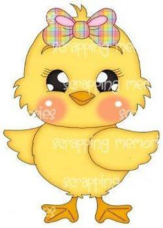 251 Easter Chick free clipart.