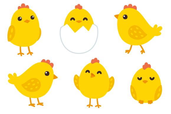 Cute baby chicken set @creativework247.