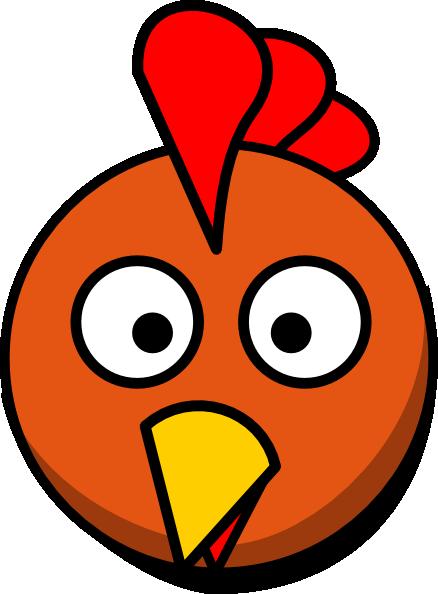 Chicken Head Clip Art at Clker.com.