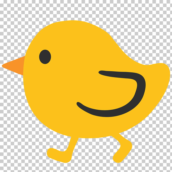 Emoji Chicken Computer Icons SMS , chick PNG clipart.