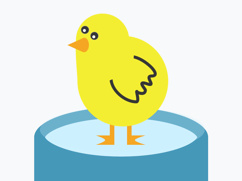Chick by Eric David Smith on Dribbble.