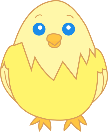 Chicken baby chick clip art at clker vector.