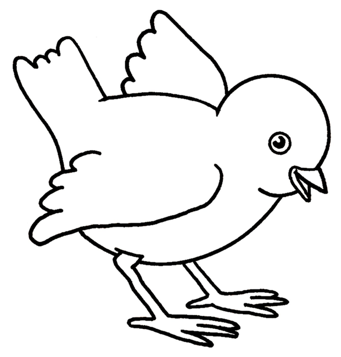 Contemporáneo Página Para Colorear De Pollo Inspiración - Enmarcado ...