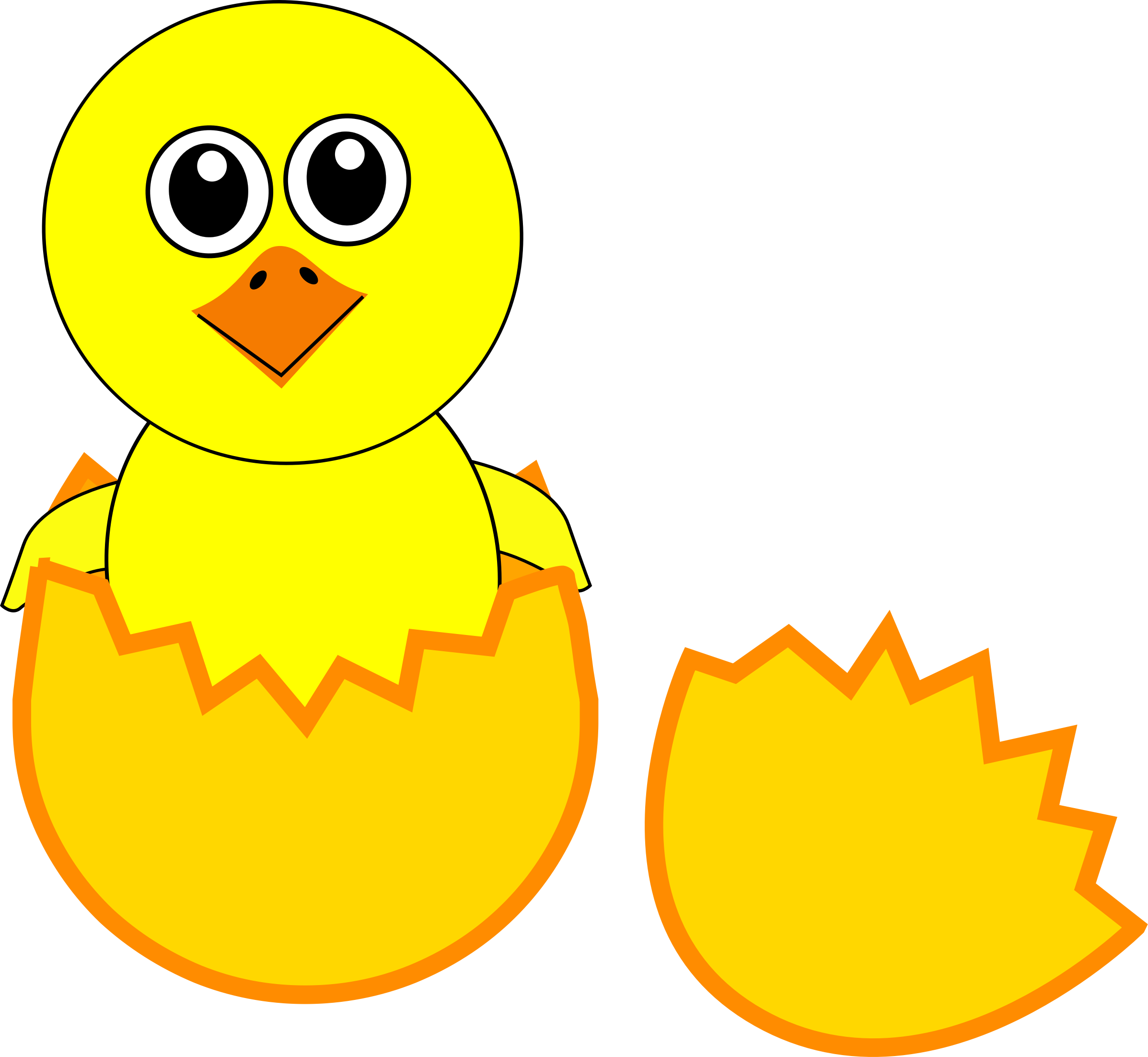Chicken Cartoon Kifaranga Clip art.