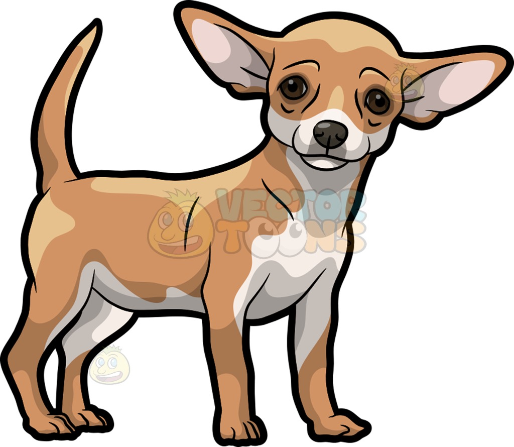 Tiny Dog Clipart.
