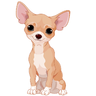 chihuahua cartoon.