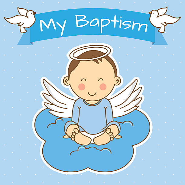 Best Baptism Illustrations, Royalty.