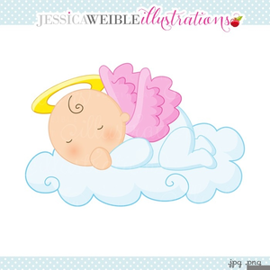 Free Baby Christening Clipart.