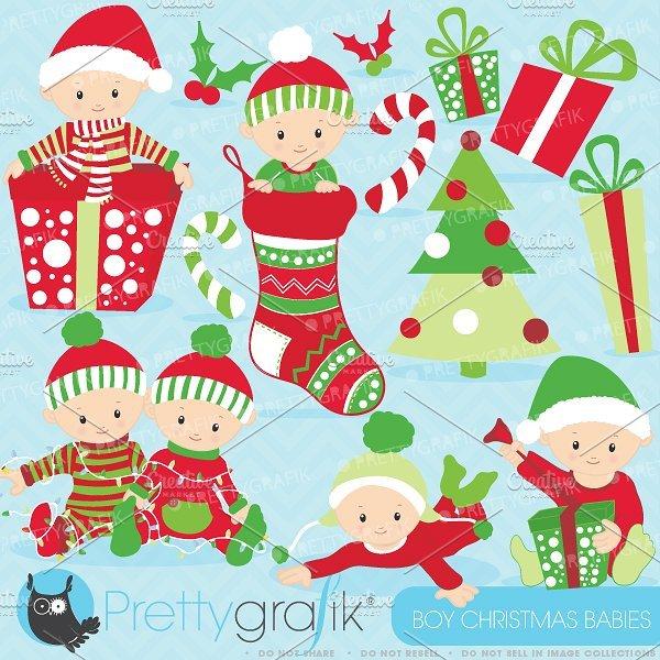 Baby christmas clipart 6 » Clipart Portal.