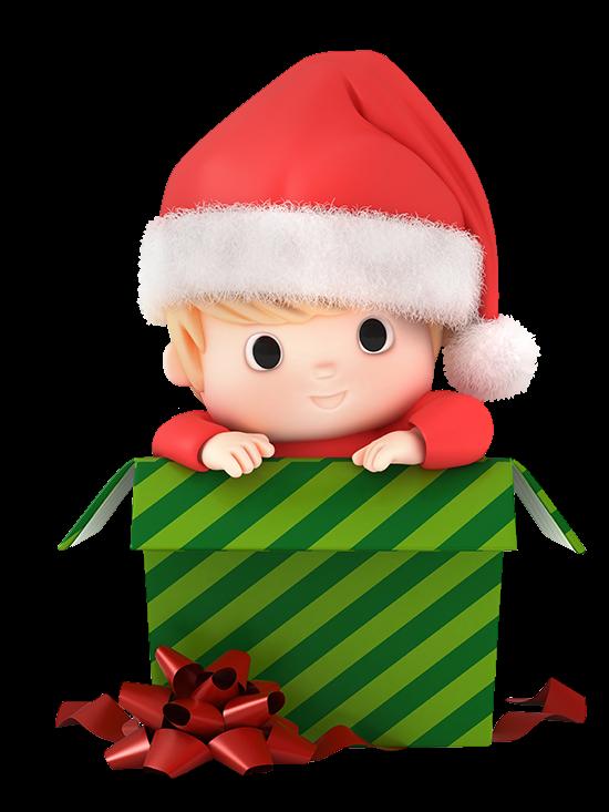 CHRISTMAS BABY BOY CLIP ART.