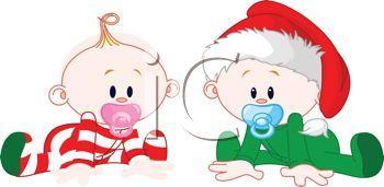 Baby christmas clipart » Clipart Portal.