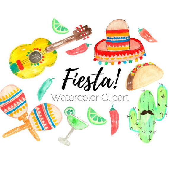 Fiesta Watercolor at GetDrawings.com.