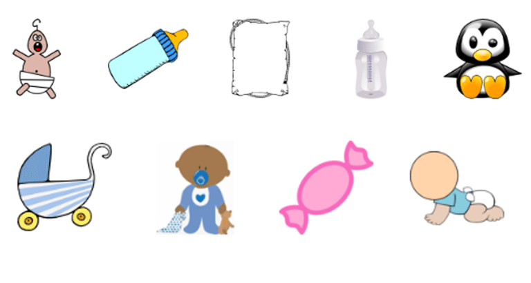Free Baby Shower Clip Art You Can Download Right Now.
