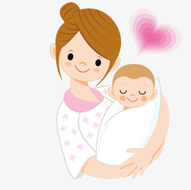 Mother Holding A Baby, Baby Clipart, Vector, Baby PNG and.