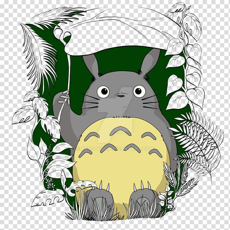 Fan art Anime Studio Ghibli, Anime transparent background.