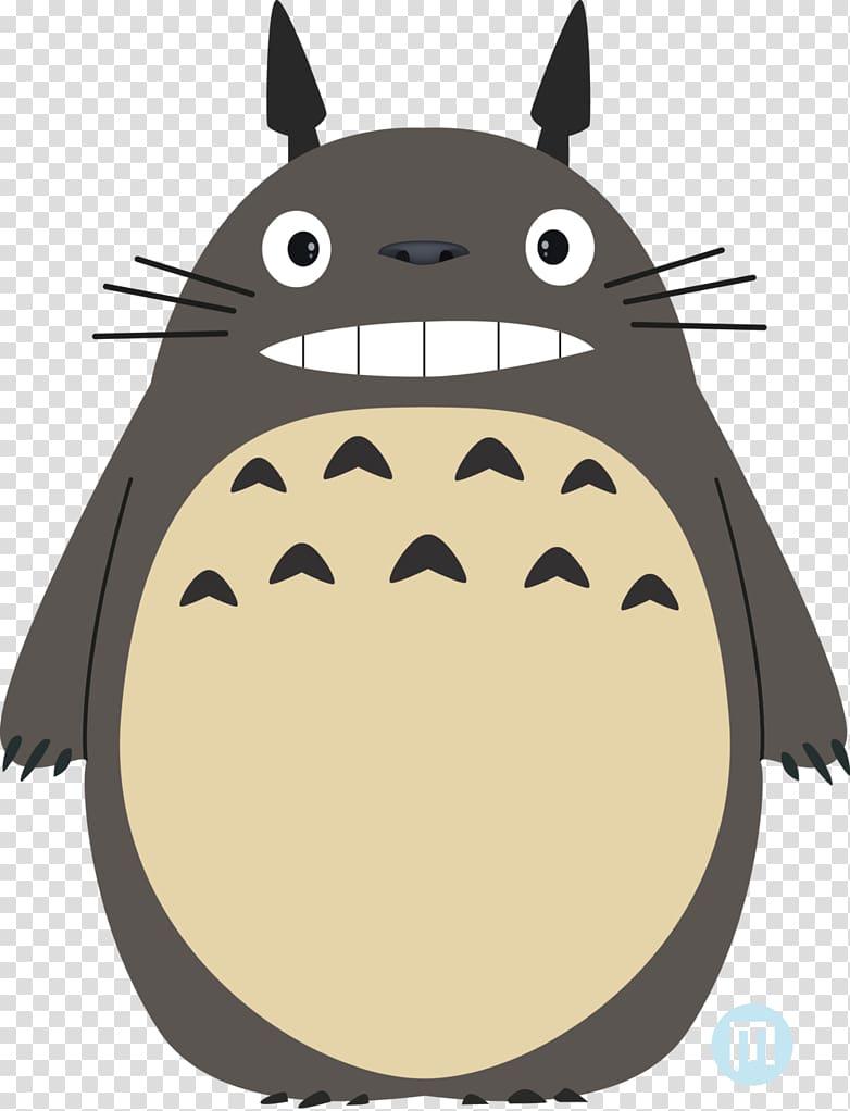 Gray animal illustration, Studio Ghibli Susuwatari Art Anime.