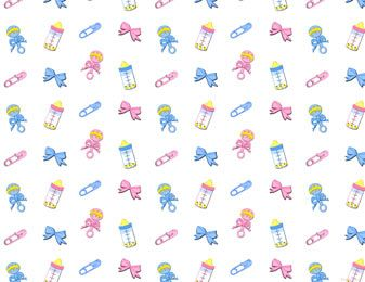 Baby Clipart Background.