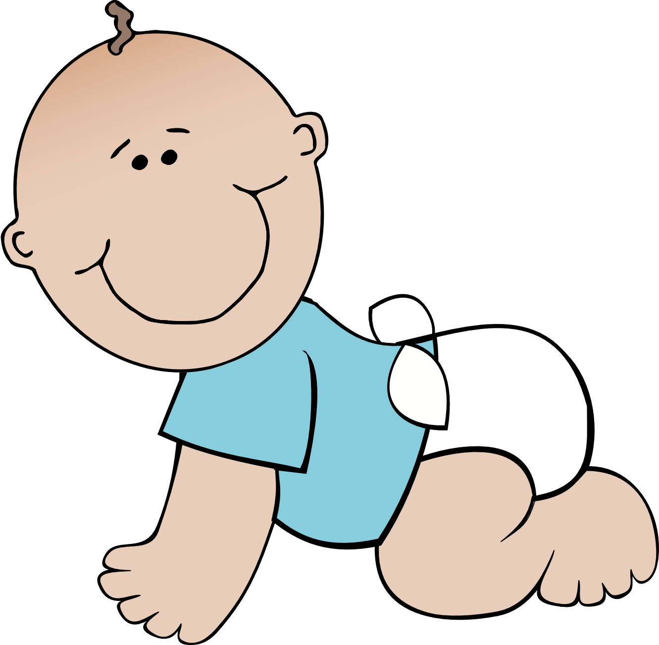 Diaper Infant Clip art.