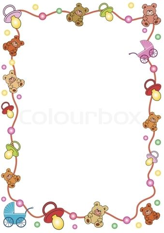 Baby clipart border 6 » Clipart Station.