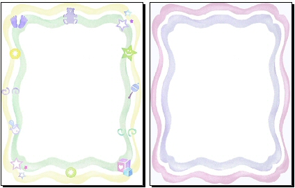 Free Clip Art Baby Borders.