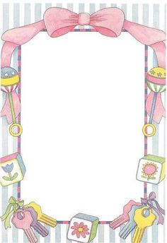 Lucrative image regarding free printable baby shower borders