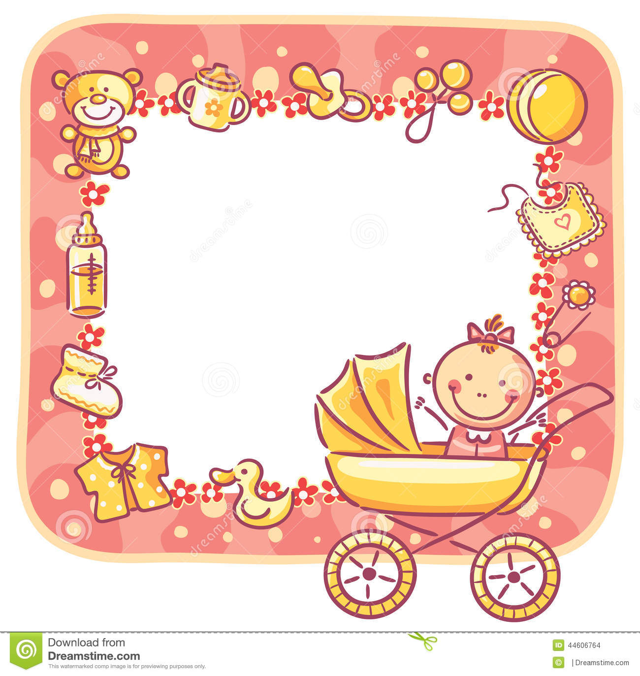 baby clipart borders and frames clipground