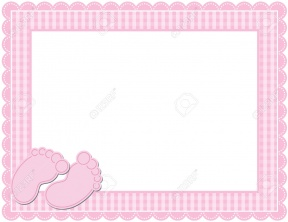 free baby clipart borders and frames #10