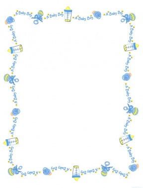 free baby clipart borders and frames #13