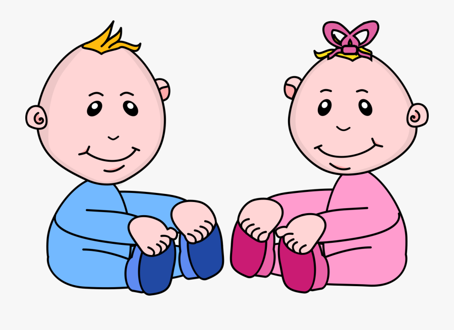 Boy And Girl Baby Clipart , Free Transparent Clipart.