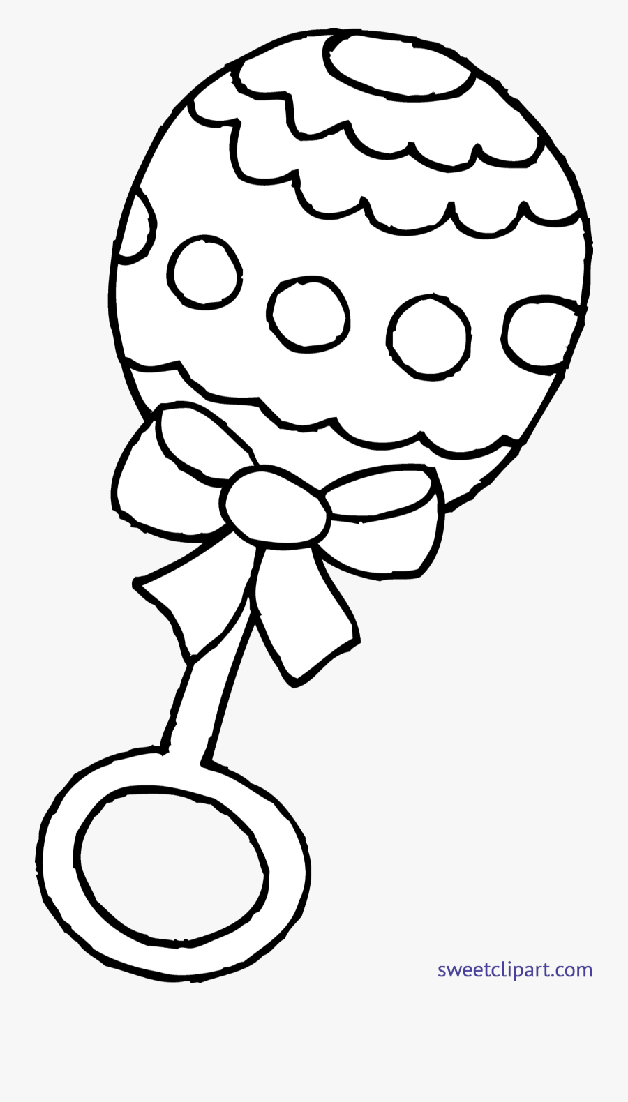 Vector Freeuse Download Baby Rattle Clipart.
