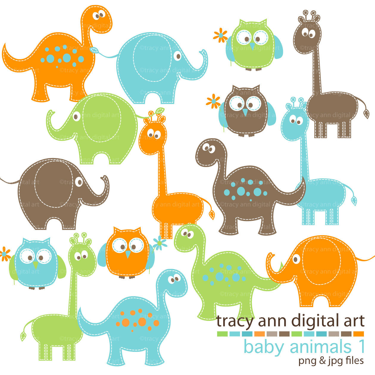 Baby Animals Clipart Free.