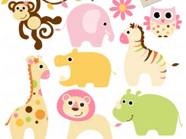 Baby Animal Clipart Free.