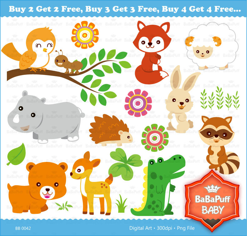 Baby Clipart Free Animal.