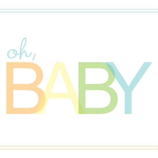 Gender Neutral Baby Clipart.