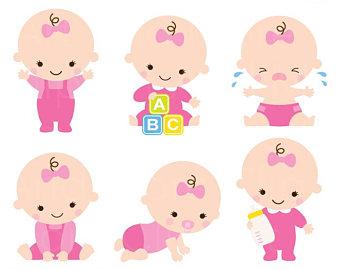 Cute Baby Girl Clipart at GetDrawings.com.