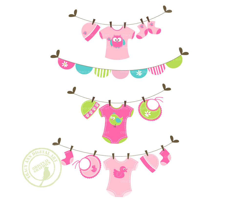 Free Baby Girl Clipart Images.