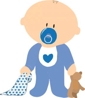 Transparent Baby Clipart.