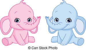Pink And Blue Baby Feet Clipart.