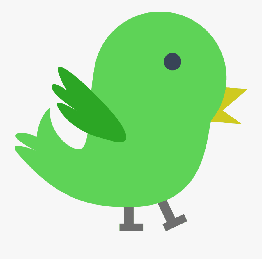 Green Chick Clipart.