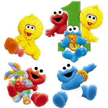 Baby Sesame Street Clipart.