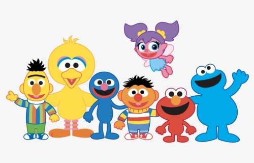 Free Sesame Street Clip Art with No Background.