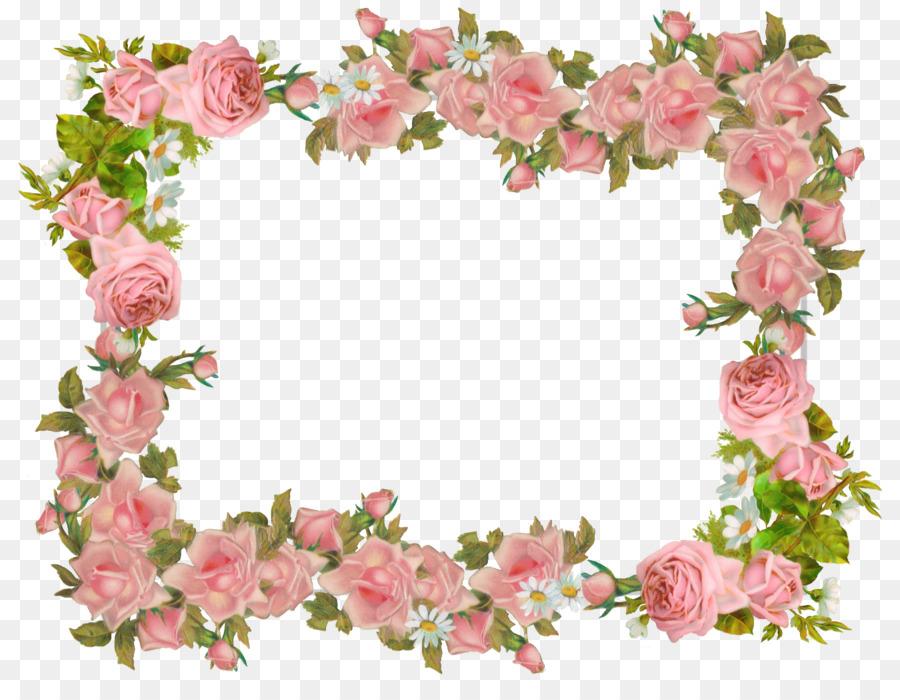 Vintage Flowers Frame.