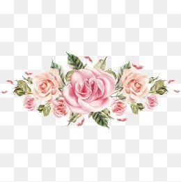 Fresh Small Floral Wedding Card, Fresh Wedding Card, Small.