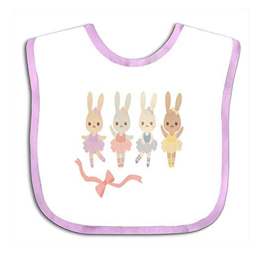 Amazon.com: Ballerina Clipart Bunny Bib.
