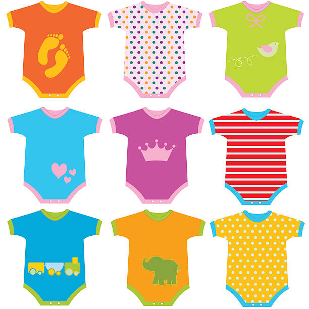 Best Baby Clothes Illustrations, Royalty.