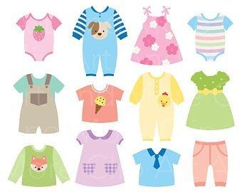 Baby dresses clipart 3 » Clipart Portal.