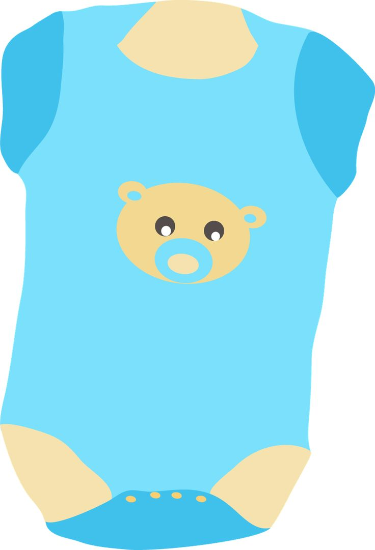 Baby Clothes Clip Art.