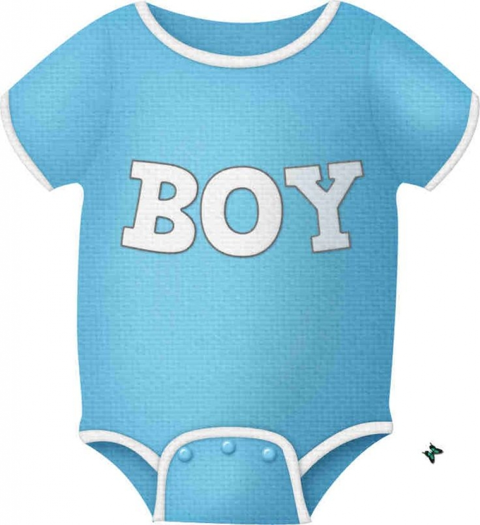 ba boy onesie clip art clip art clothes clipart regarding blue.
