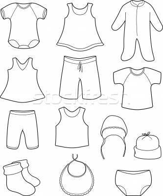 Baby clothes Stock Photos, Stock Images and Vectors.